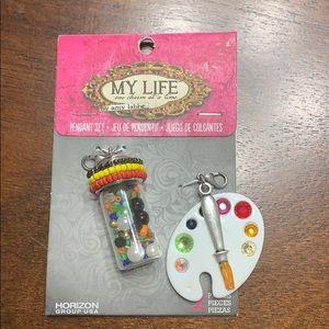 My Life by Amy Labbe Pendant Set